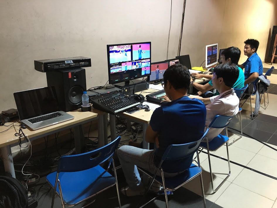 Filming in Vietnam used flyaway kit to produce live 2017 AFC Club Futsal Championship