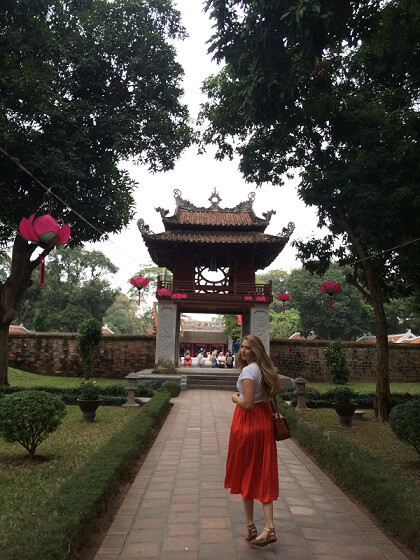 Fixer in Vietnam organized the shoot at Temple of Literature for Propagandeur