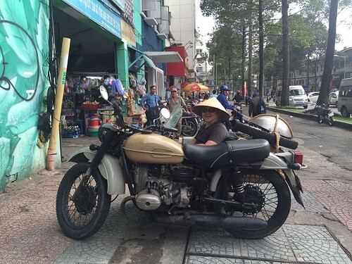 Vietnam fixer arranged the shoot of Wok With Me in Ho Chi Minh City for Freeflow Productions -  MeatMen on the sidecar