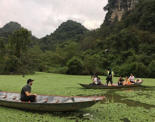 The Traveler presenter Hazem Abuwatfa explored Thung Nham bird sanctuary in Ninh Binh.