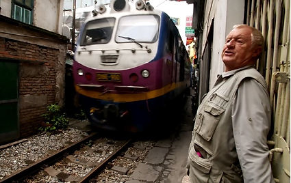 Fixer in Vietnam facilitated the production of Chris Tarrnt: Extreme Railway Journeys.