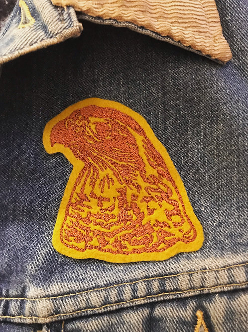 Felt Goshawk Patch