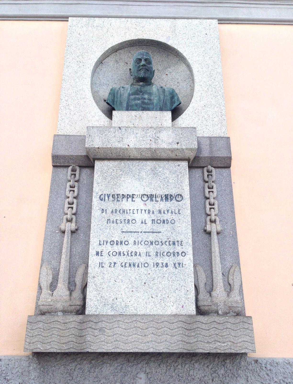 Livorno Monumento A Giuseppe Orlando Ago17.JPG