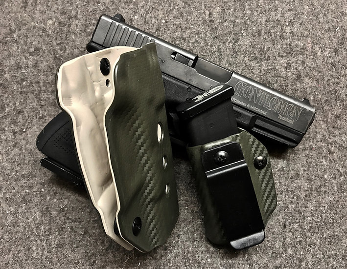 Holster Inside Réglable Bicolore + Mag