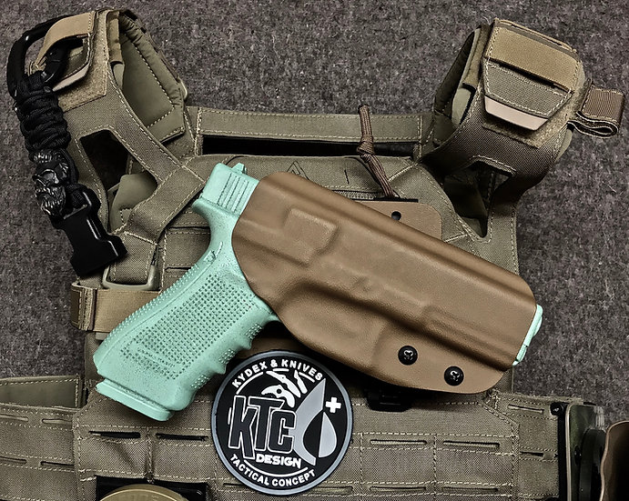 Holster Outside Clips Molle