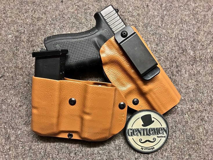 Holster Inside Réglable + Mag Double Gentlemen
