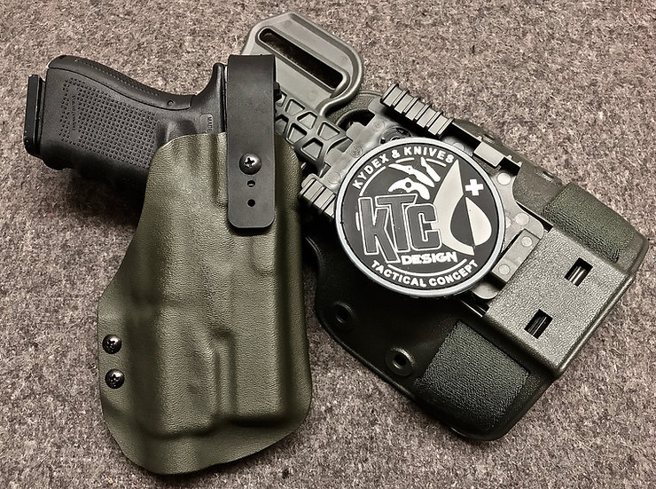 Holster de cuisse G19 + TLR2 Modulable