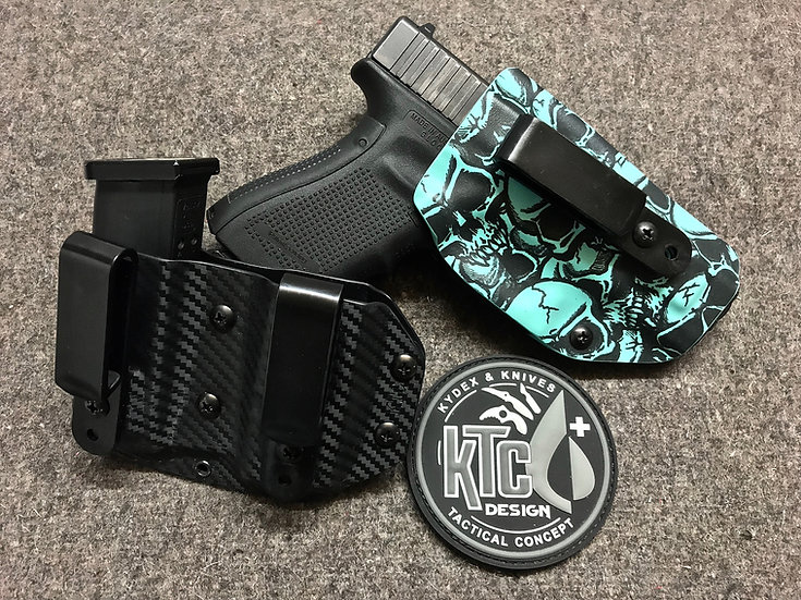 Holster Inside Réglable + Mag Double
