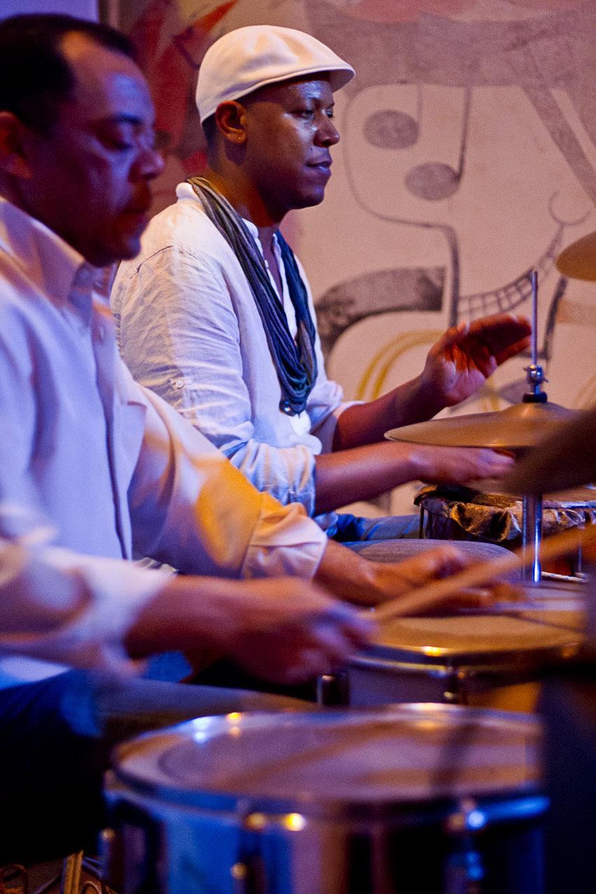 Welington Moreira e Samba Sam