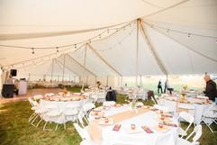 Blanke-Johnson-Wedding Inside tent