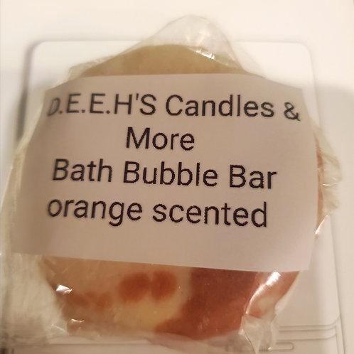 Orange Scented Bath Bubble Bar