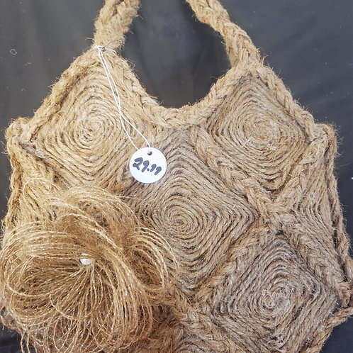 Handmade Jute bag/Purse