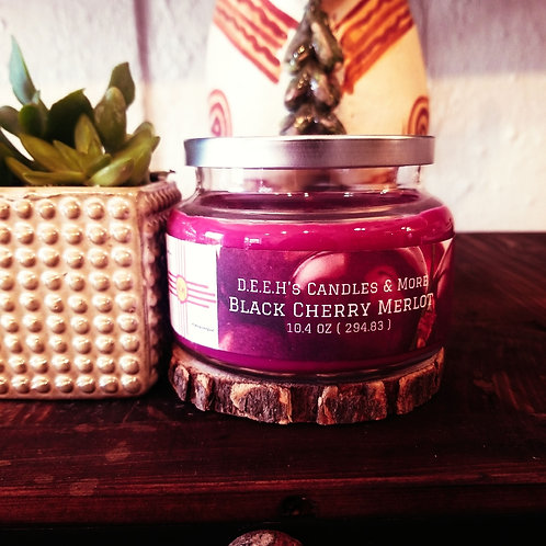 Black Cherry Merlot Soy Candle