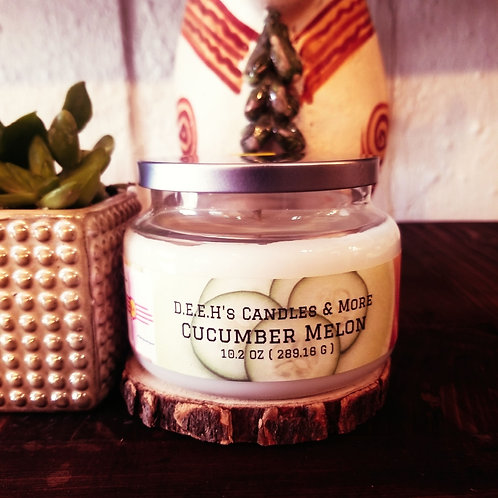 Cucumber Melon Soy Candle