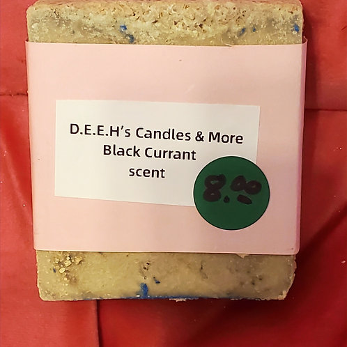 BLACK CURRANT SCENTED SOAP