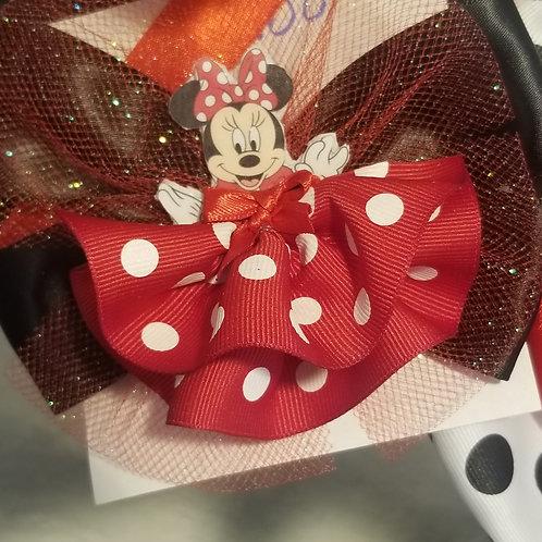 Mini Mouse Hair clip Disney inspired