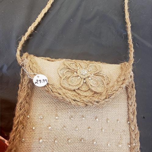 Handmade Jute Bag/Purse