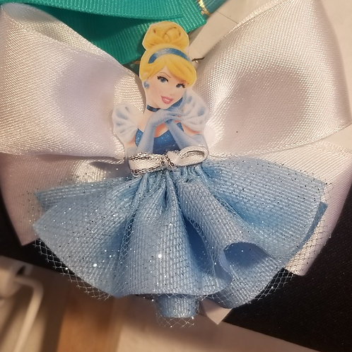 Cinderella Hair clips Disney inspired