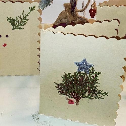Small Blank Christmas Cards