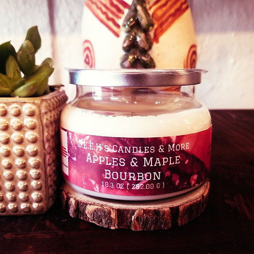 APPLES & MAPLE BOURBON SOY CANDLE