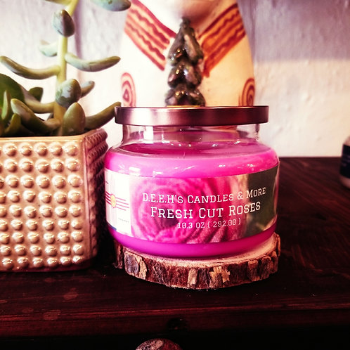 Fresh Cut Roses Soy Candle