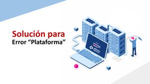 """Error """"plataforma"""" en Sistema Adminpaq y Facturación Electrónica:"""