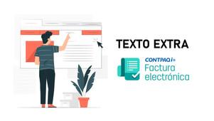 TEXTO EXTRA EN TU FACTURA ELECTRONICA CON CONTPAQi