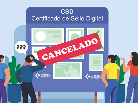 Datos sobre cancelación de CSD