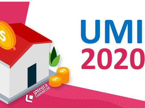 Valor UMI actualizado a 2020