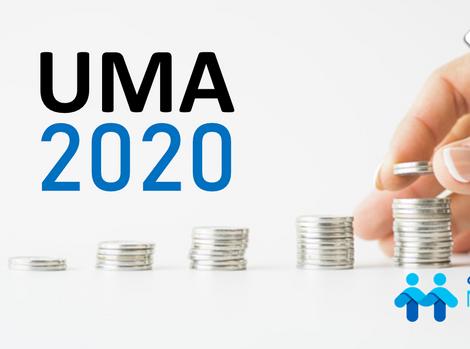 Valor UMA 2020 y CONTPAQi Nominas