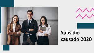 HERRAMIENTA DE EXCEL PARA CALCULAR SUBSIDIO CAUSADO 2020 - POR CONTPAQi®