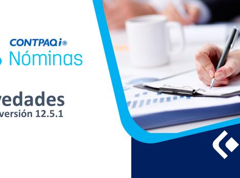 NovedadesCONTPAQi®Nóminas 12.5.1
