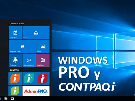 Sistemas Windows para CONTPAQi