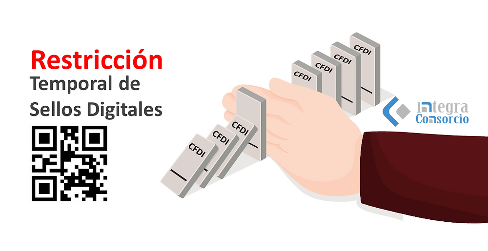 restriccion de sellos digitales