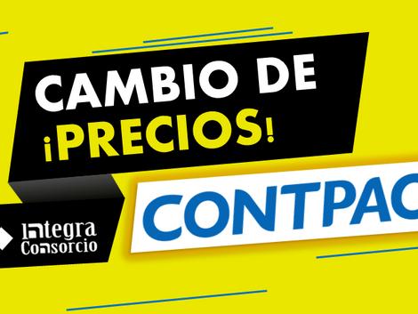 CONTPAQi® Cambia de Precios en Febrero 2019