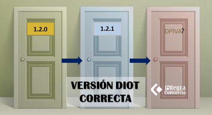 DIOT 1.2.1 error