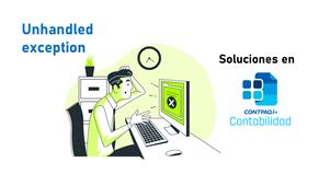 Solución: error Unhandled exception at XXXXXXXX y la ventana del ADD