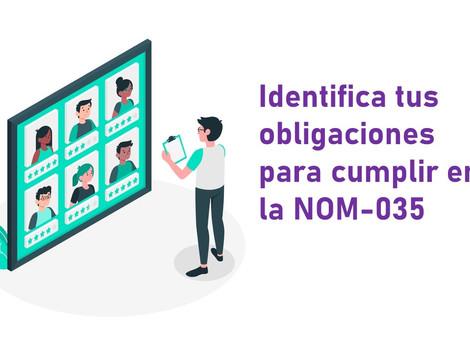 Identifica tus obligaciones para cumplir en la NOM-035 por cada centro de trabajo