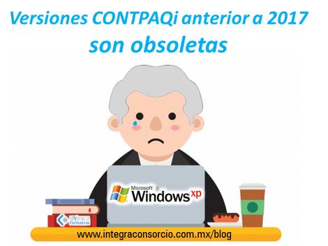 Adiós versiones CONTPAQi 2017