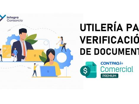 """8 Pasos para """"Verificación de Documentos"""" en CONTPAQi Comercial Premium"""