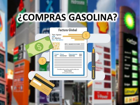 Eliminan factura global para Gasolineras