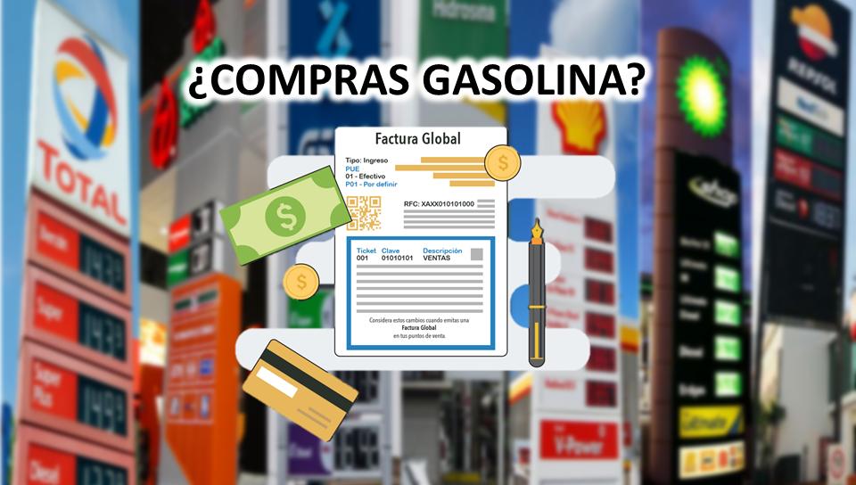 FACTURA GLOBAL GASOLINERA