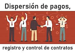 dispersion de pagos