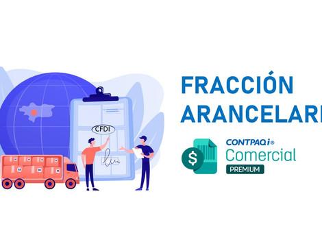 Actualización de fracción arancelarias en CONTPAQi Comercial Premium