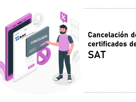 Restricción o cancelación del certificado del sello digital?