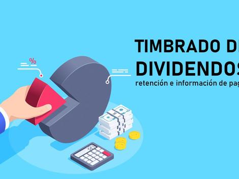 Emisión de CFDI por dividendos, retención e información de pagos.
