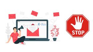 Límite de envíos de correo electrónico