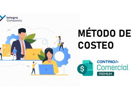 Cambiar el Método de Costeo en CONTPAQi Comercial Premium
