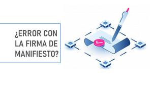 FIRMA DE MANIFIESTO EN CONTPAQi