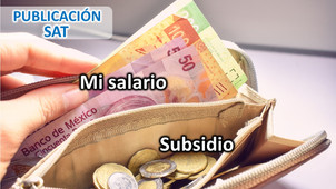 Cambios en Guía de llenado del CFDI de Nóminas, Ajuste mensual en Subsidio Causado.